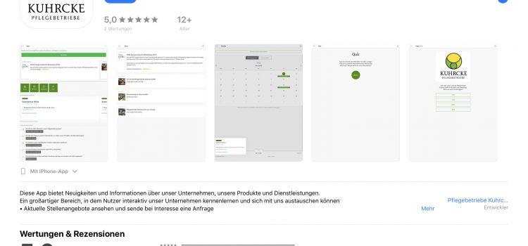 PBK jetzt mit App